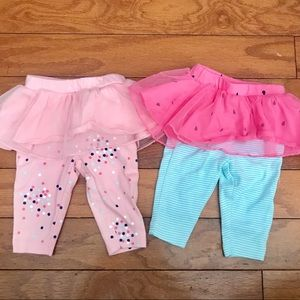 2pc Tutu Leggings